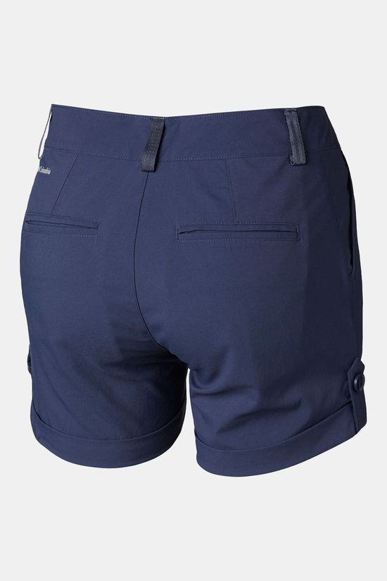 "Columbia 6"" Firwood Camp Short Dames Donkerblauw"