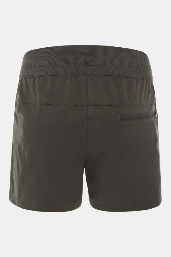 The North Face Aphrodite Short Dames Donkergroen