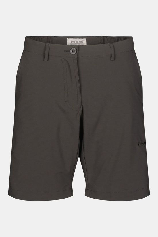 Ayacucho Equator Ii Am Stretch Shorts Donkergrijs