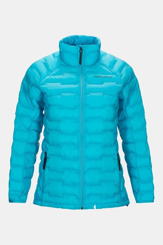 Peak Performance Wargon Light Jas Dames Blauw