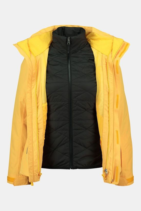 The North Face Garner Triclimate 3-in-1 Jas Dames Donkergeel