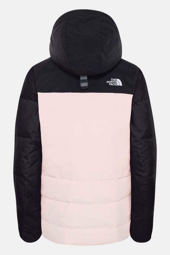 The North Face Pallie Down Jas Dames Zalmroze/Zwart