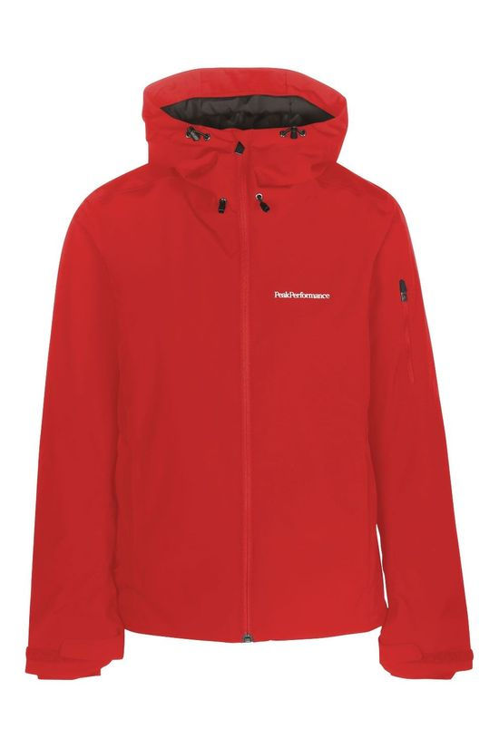 Peak Performance Blanc Jas Dames Rood