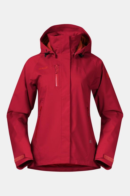 Bergans Flya Insulated Jas Dames Rood