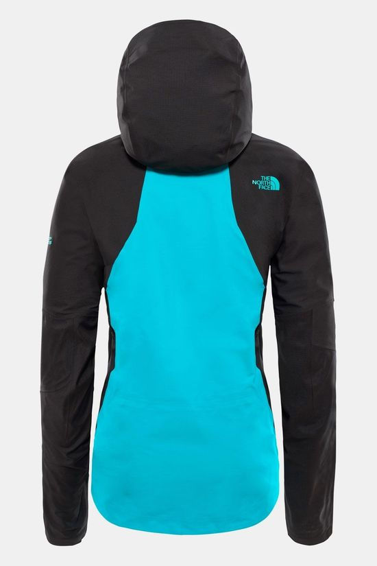 The North Face Purist Jas Dames Turkoois/Zwart