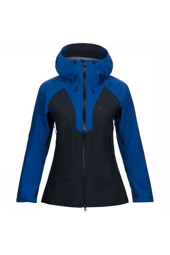Peak Performance Tour Jas Dames Donkerblauw