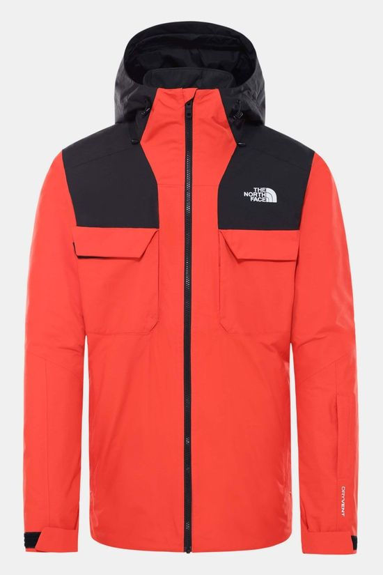 The North Face Fourbarrel Triclimate 3-in-1 Jas Oranje/Zwart