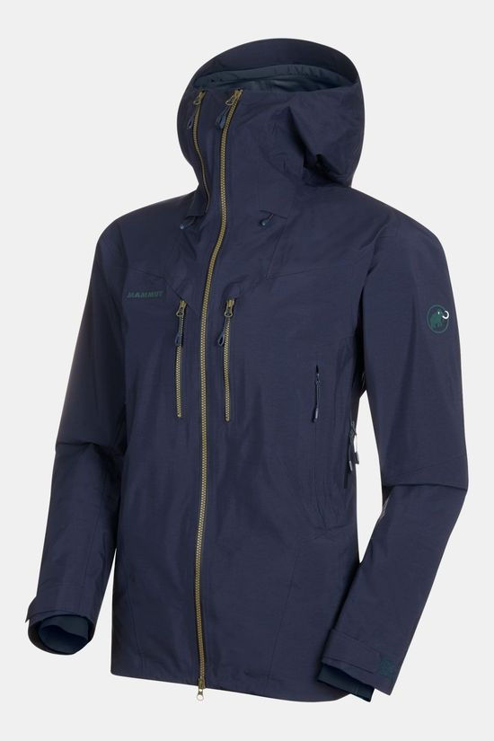 Mammut Alvier HS Hooded Jas Donkerblauw