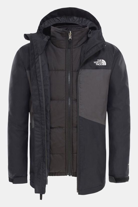 The North Face Clement Triclimate 3-in-1 Jas Jongens Zwart