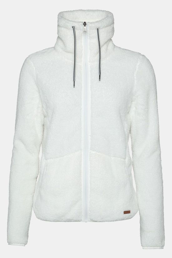 Protest Piri 19 Full Zip Vest Dames Gebroken Wit