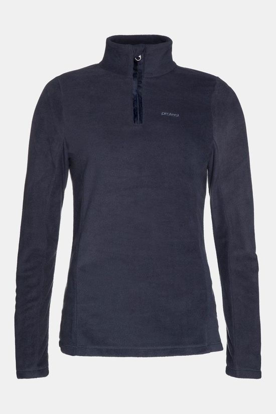 Protest Mutez 1/4 Zip Skipully Dames Donkerblauw