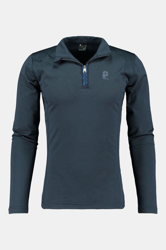 Protest Willowy 1/4 Zip Trui Donkerblauw