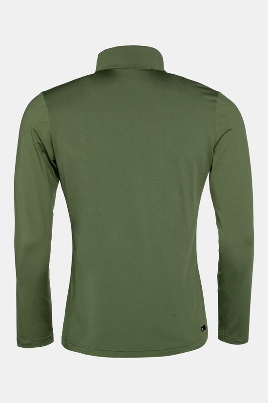 Protest Willowy 1/4 Zip Trui Donkerkaki/Ass. Camouflage