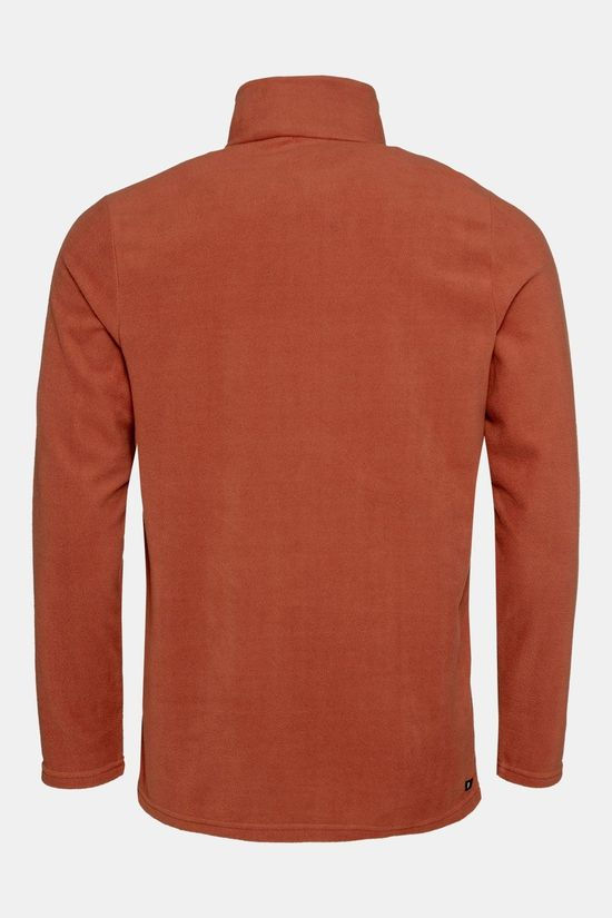 Protest Perfecty 1/4 Zip Trui Roest