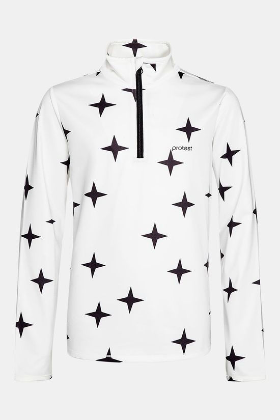 Protest Star Jr 1/4 Zip Skipully Junior Gebroken Wit