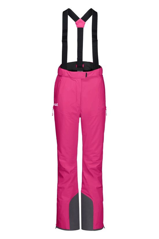 Jack Wolfskin Big White Pants Skibroek Dames Fuchsia