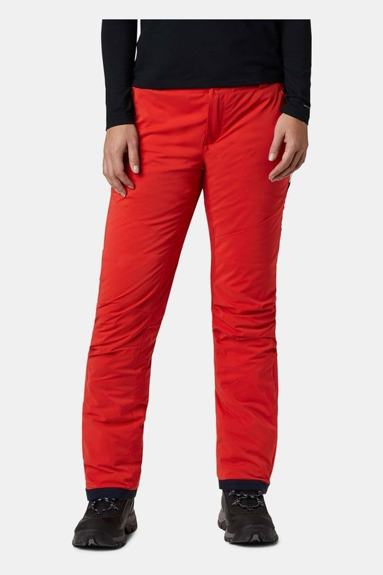 Columbia Backslope Insulated Skibroek Dames Middenrood