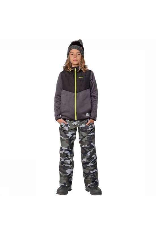 Protest Curt Skibroek Junior Donkerkaki/Assortiment Camouflage