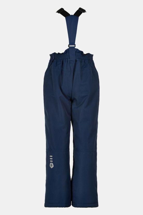 Color Kids Ski Pants W/Pockets, Af 10.000 Skibroek Kids Donkerblauw