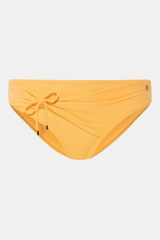 Beachlife Warm Apricot High-waist Bikinibroekje Dames Middengeel