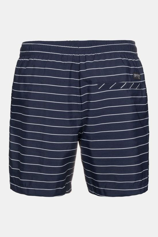 Protest Sharif Beachshort Donkerblauw