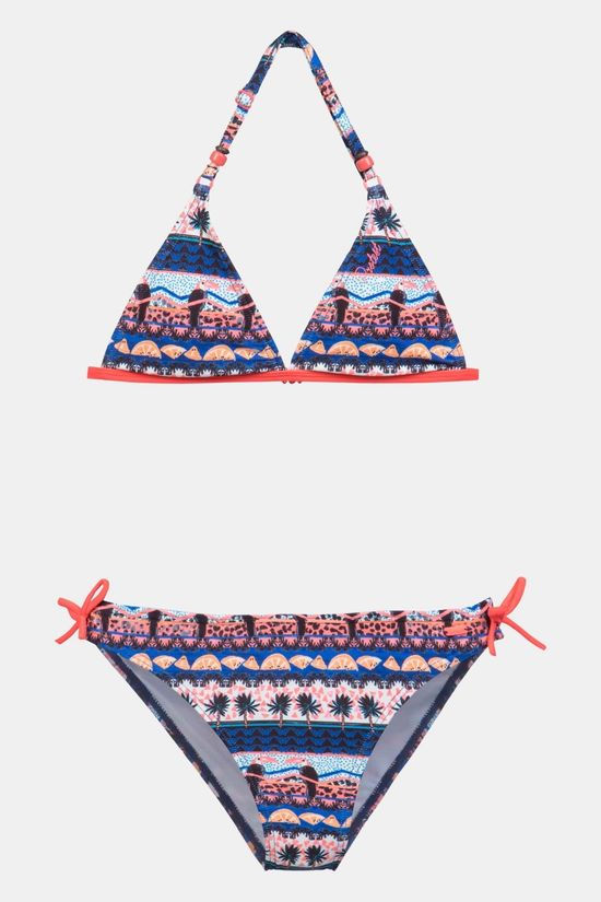 Protest Toucan Jr Triangle Bikini Junior Middenblauw