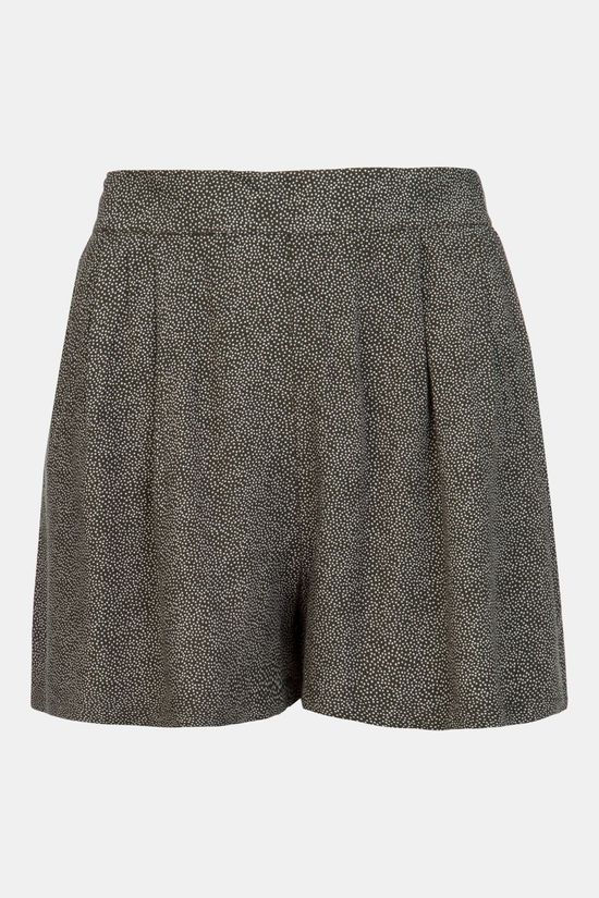Protest Meadows Shorts Dames Donkergroen
