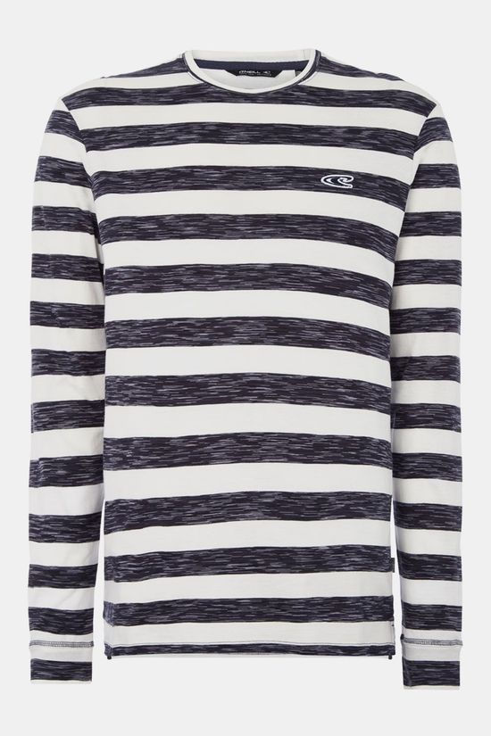 O'Neill Jack's Special Longsleeve T-Shirt Donkerblauw/Wit
