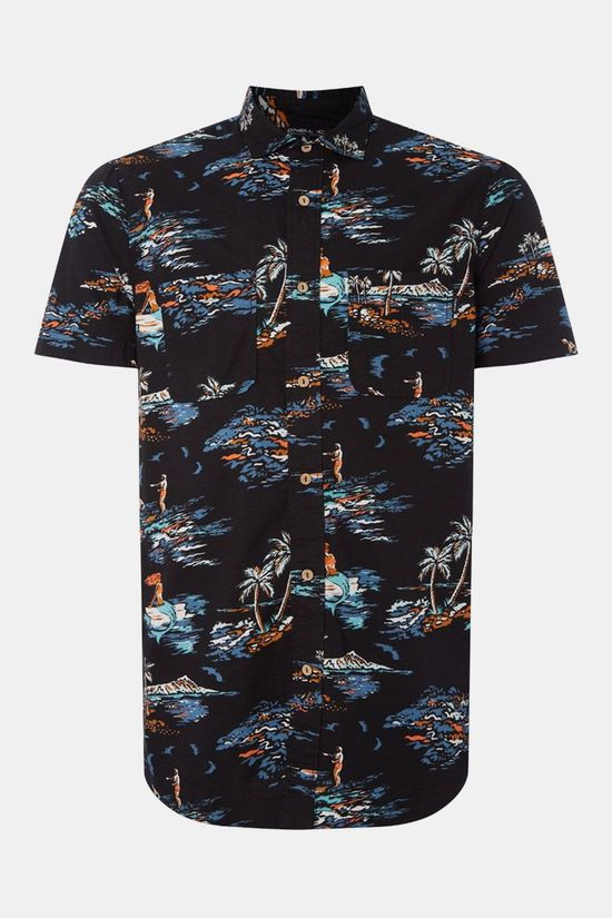 O'Neill Tropical Shirt Zwart