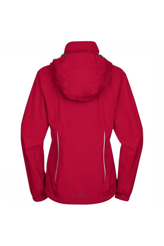 Vaude Escape Bike Light Jas Dames Rood/Middenrood