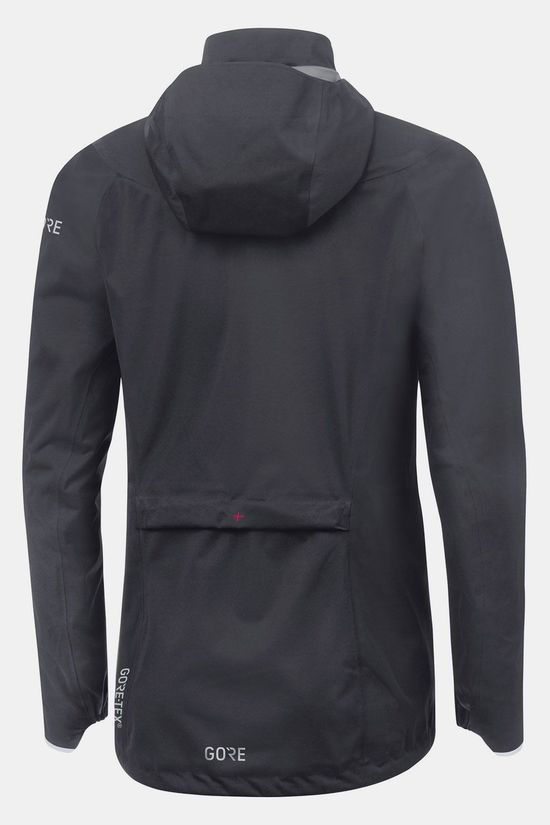 Gore Wear Trail Hooded Jas Dames Donkergrijs