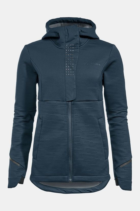 Vaude Women's Cyclist Winter Softshell Jas Donkerblauw/Middenblauw