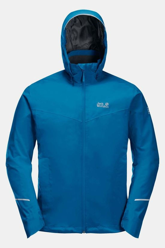 Jack Wolfskin Atlas Tour Jacket Middenblauw