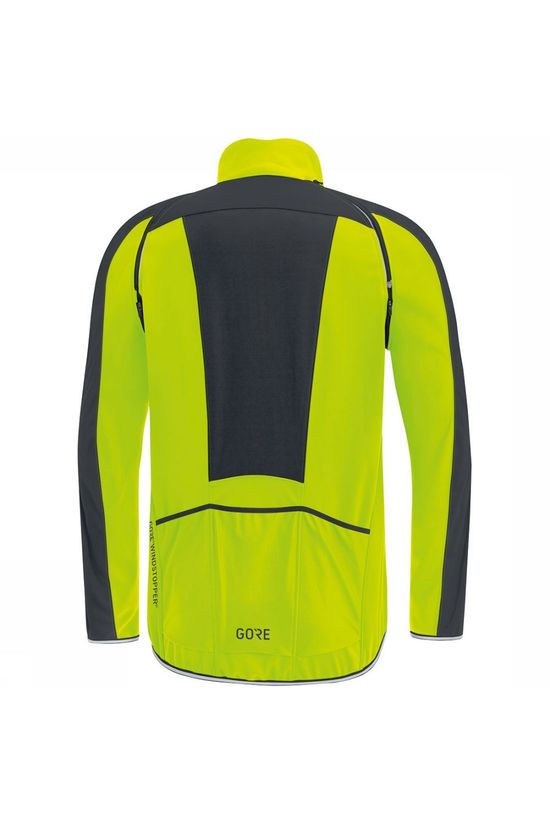 Gore Wear C3 GWS Phantom Zip-Off Jas Middengeel/Zwart