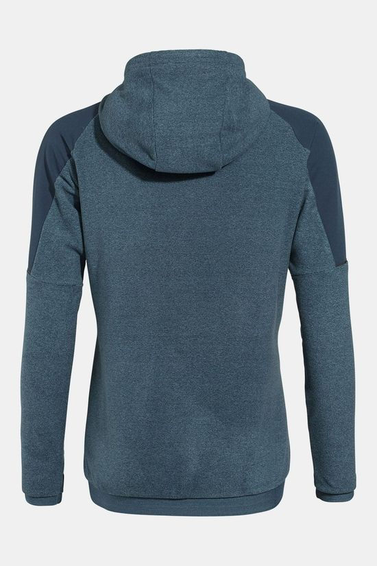 Vaude Yaras Hooded Fleece Dames Blauw/Blauw (Jeans)