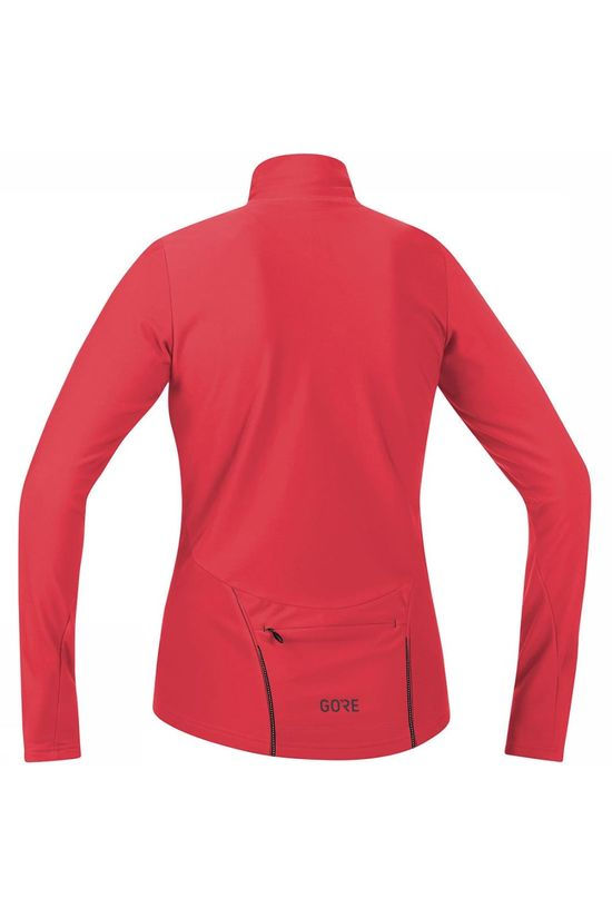 Gore Wear C3 Thermo Jersey Shirt Dames Middenrood