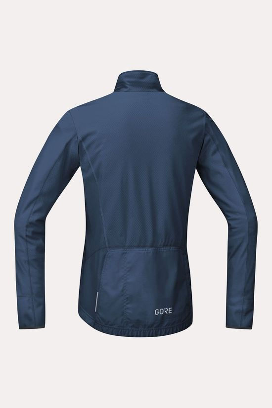 Gore Wear C5 Thermo Trail Jersey Shirt Donkerblauw/Zwart