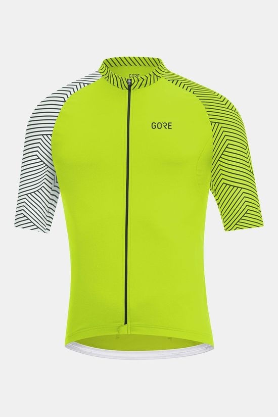 Gore Wear C5 Optiline Jersey Shirt Lime/Wit