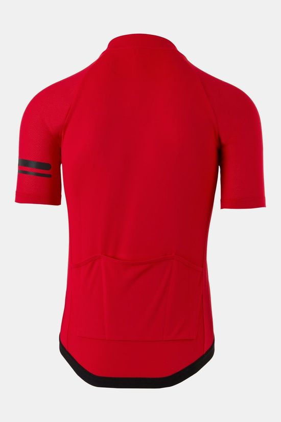 AGU Core Essential Fietsshirt Middenrood