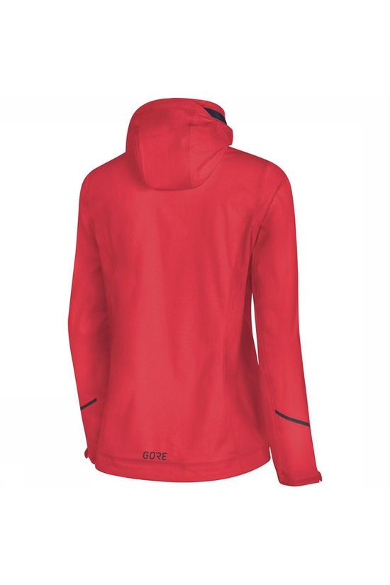 Gore Wear R3 GTX Active Hooded Jas Dames Middenrood