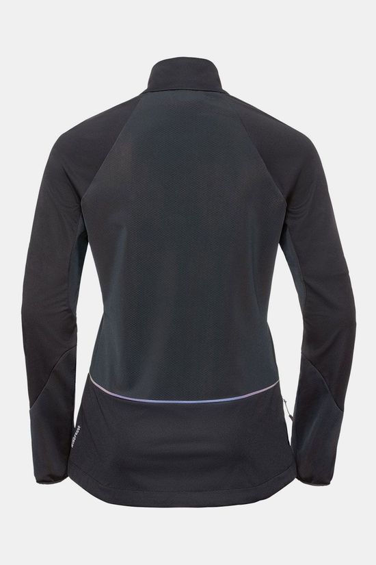 Odlo Zeroweight Windproof Warm Jas Dames Zwart
