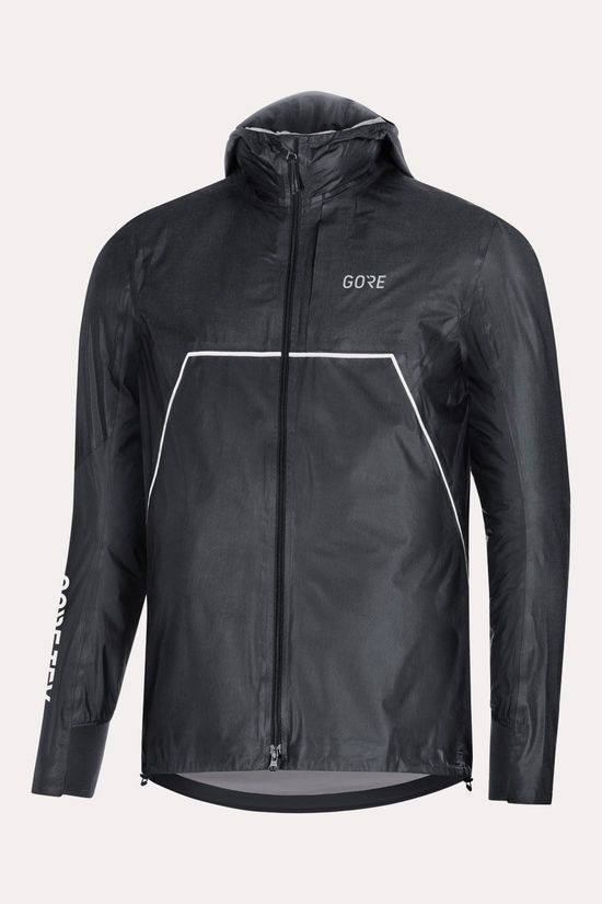 Gore Wear R7 Gore-Tex ShakeDry Trail Hooded Jas Zwart