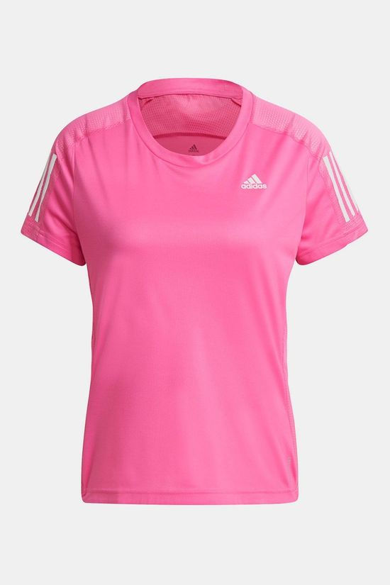 adidas Own The Run Shirt Dames Middenroze