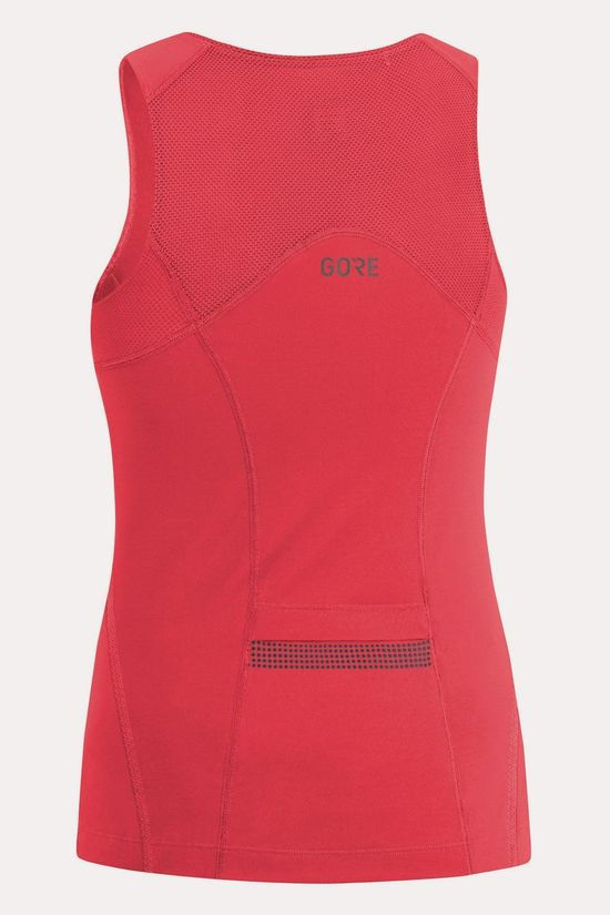 Gore Wear R3 Sleeveless Shirt Dames Middenrood