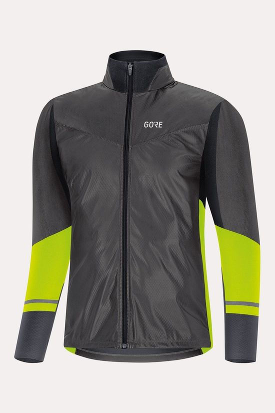 Gore Wear R5 GTX Infinium SL Long Sleeve Shirt Zwart/Middengeel
