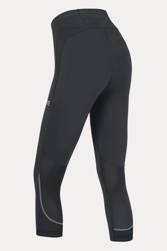 Gore Wear R3 3/4 Tight Dames Zwart