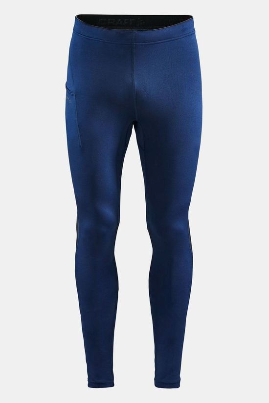 Craft ADV Essence Zip Tights Donkerblauw