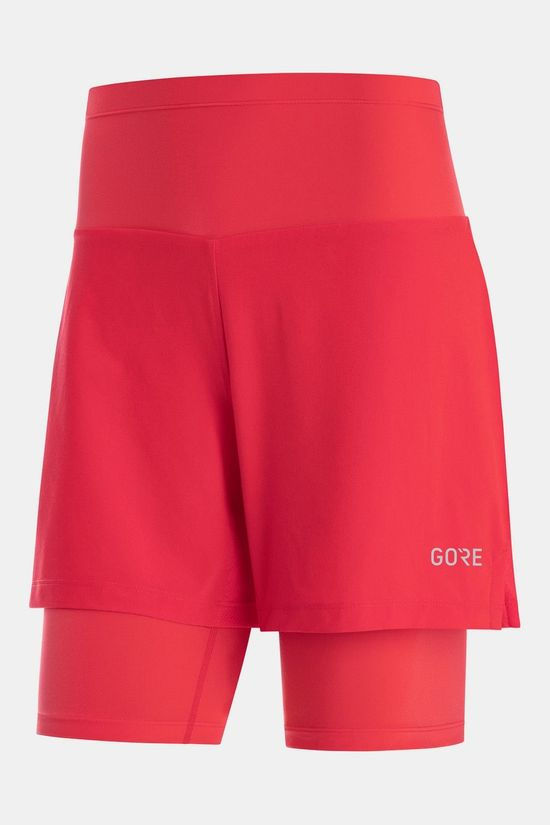 Gore Wear R5 2In1 Shorts Dames Middenrood
