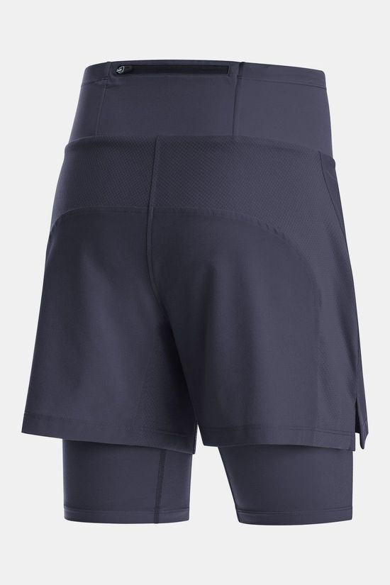 Gore Wear R5 2In1 Shorts Dames Donkerblauw