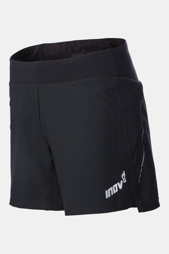 "Inov-8 Race Elite 6"" Trail Short Zwart"